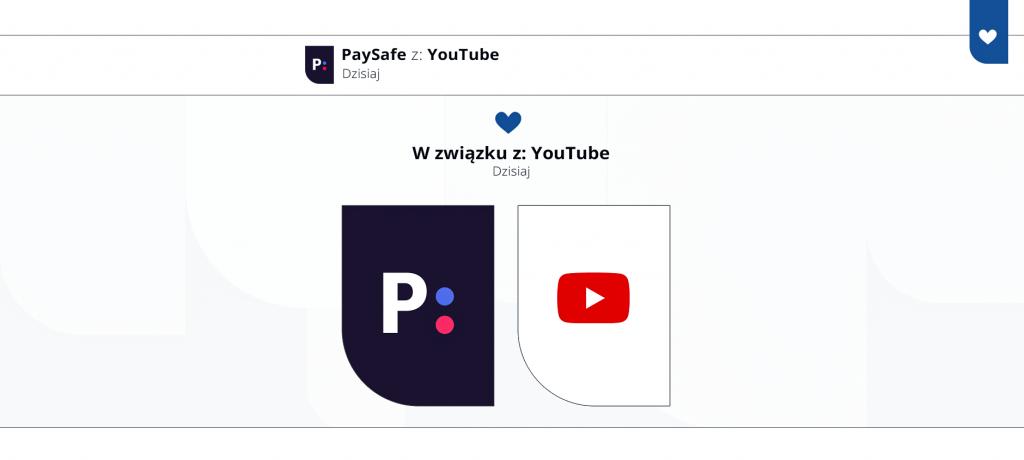 paysafe w związku z youtube