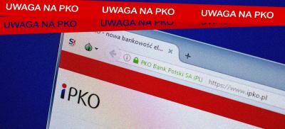 Fałszywe potwierdzenie transakcji PKO czyści konto!