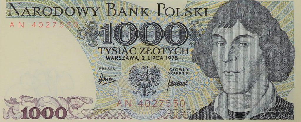 banknot 1000 pln