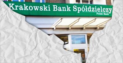 Krakowski Bank Spółdzielczy z kuratorem na karku… Co na to klienci?