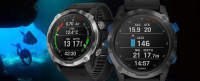 Płatności dla nurków – smartwatch  Garmin