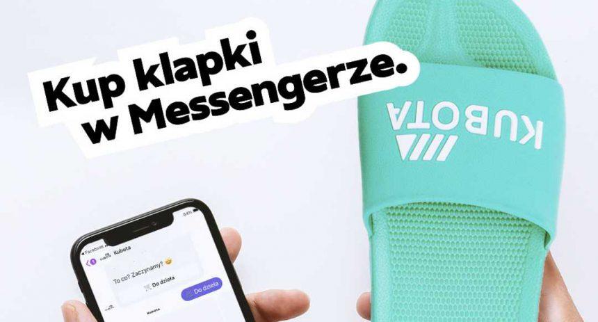 Płatność BLIKiem na Messengerze za… klapki Kubota!